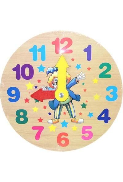 Onyıl Oyuncak Model Ahşap Saat