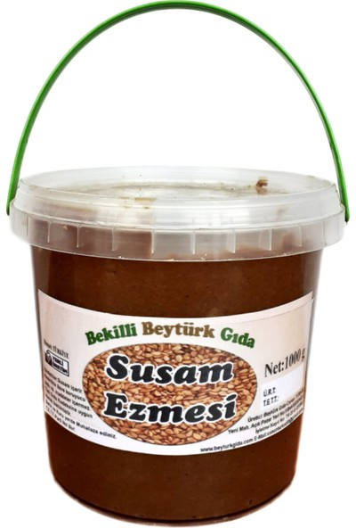 Bekilli Beytürk Gıda Susam Ezmesi 1 kg