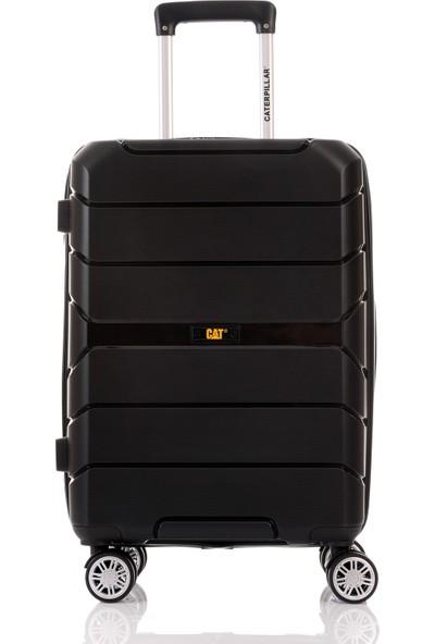 Cat 83884 Silikon Pp Kırılmaz Orta Boy Valiz Siyah