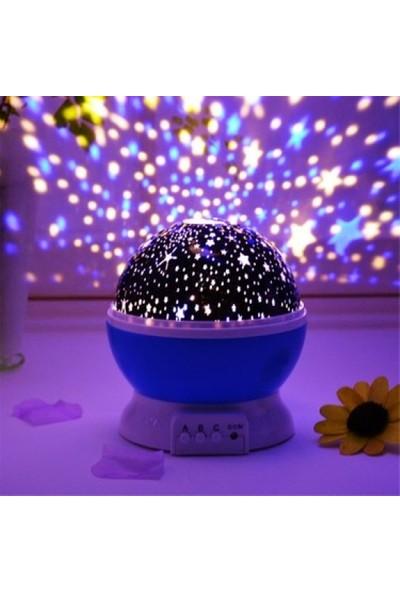 Star Master Renkli Ay/yıldız Gece Lambası