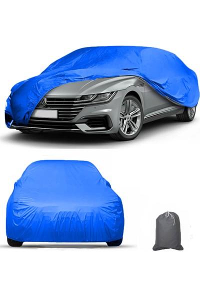Autozel Opel Corsa F 2021 Mavi Araba Brandası Araba Çadırı