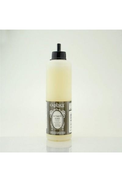 Cadence Boya Ultimate Glaze Su Bazlı Vernik 500 ml Yarımat Satin