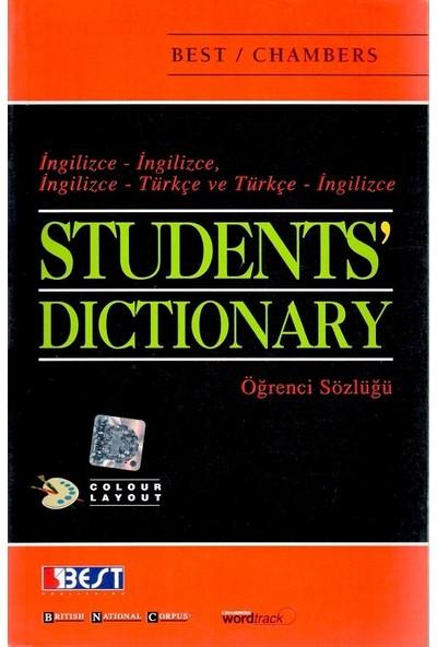 Best Publishing Best Chambers Student Dictionary Öğrenci Sözlüğü