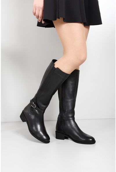 Gön Deri Kadın Çizme 44596