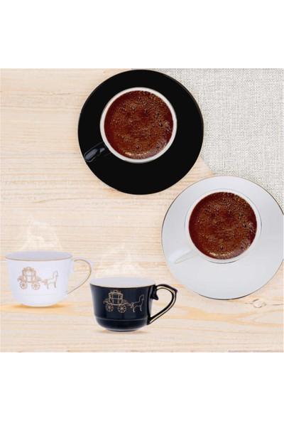 Lucky Art 6lı Vanessa Bone Serısı Kahve Fıncan Set