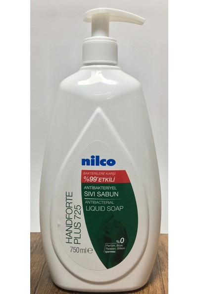 Nilco Handforte Plus 724 Antibakteriyel Sıvı El Sabunu