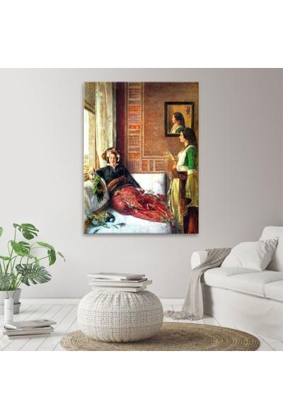 Arty Tablo Istanbul'da Harem Hayatı 1857 Tablo