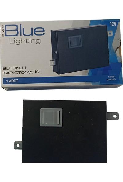 Blue Lighting Butonlu Kapı Otomatiği