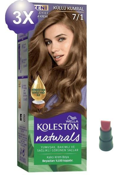 Koleston Naturals Küllü Kumral Saç Boyası 7.1 x 3 Adet