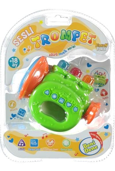 Furkan Toys Sesli Işıklı Eğlence Arkadaşlarım Sesli Trompet FR32055