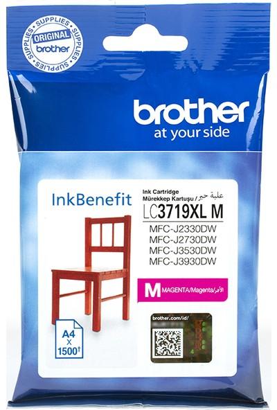 BROTHER LC3719XLM Kırmızı Mürekkep Kartuş (1500 Sayfa)