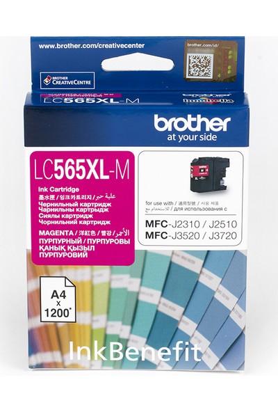 BROTHER LC565XLM Kırmızı Mürekkep Kartuş (1200 Sayfa)