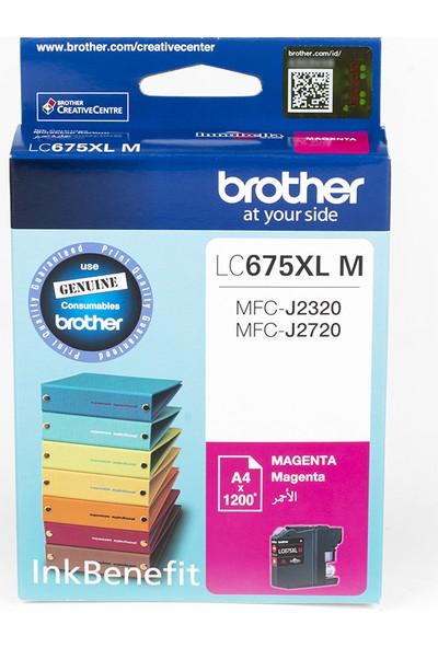BROTHER LC675XLM Kırmızı Mürekkep Kartuş (1200 Sayfa)