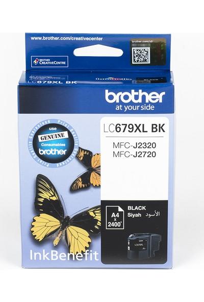 BROTHER LC679XLBK Siyah Mürekkep Kartuş (2400 Sayfa)