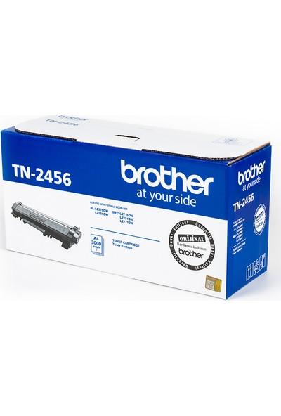 BROTHER TN-2456 Siyah Toner (3000 Sayfa)