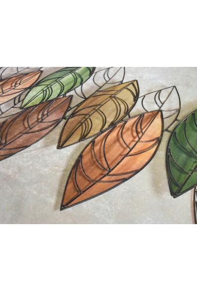 Nur Home Süngerli Kadife Lastikli Halı Örtüsü Nrh--29 Yaprak Cümbüşü