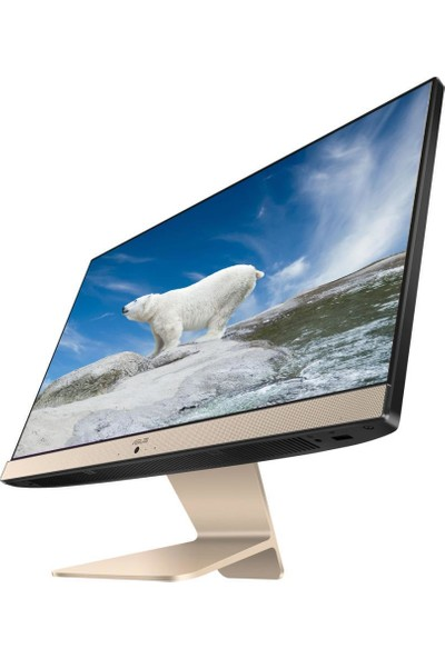 "Asus Vivo V222FAK Intel Core i5 10210U 8GB 256GB SSD Freedos 21.5"" FHD All In One Bilgisayar BA004M03"