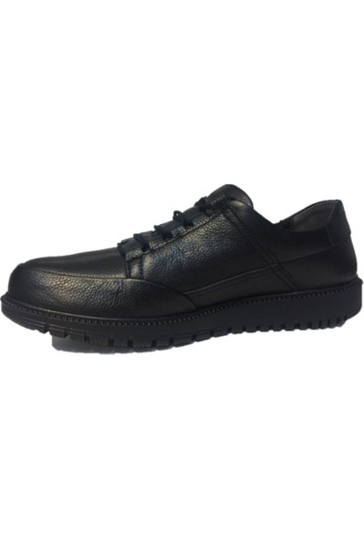 Budaks 11480 Siyah Erkek Kışlık Ayakkabı Deri