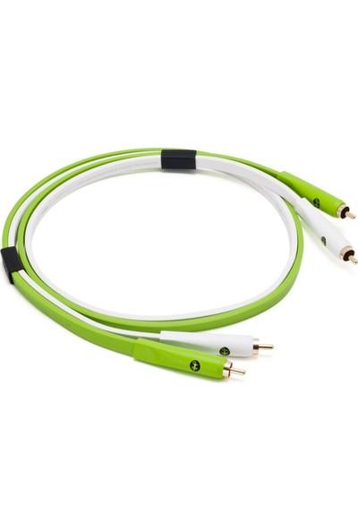 Neo Created By Oyaıde Elec. D+ Rca Class B / 1.0 Mt Dj ve Prodüktörler İçin Yüksek Kalite Rca - Rca Kablo 1 Çift 1.0 Mt
