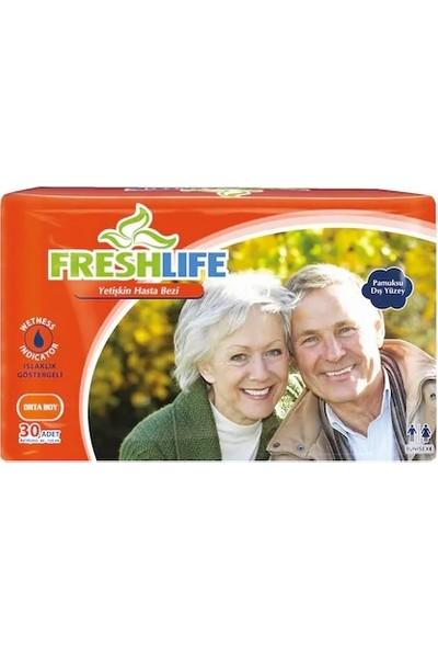 Freshlife Medium 30'lu Belbantlı Hasta Bezi