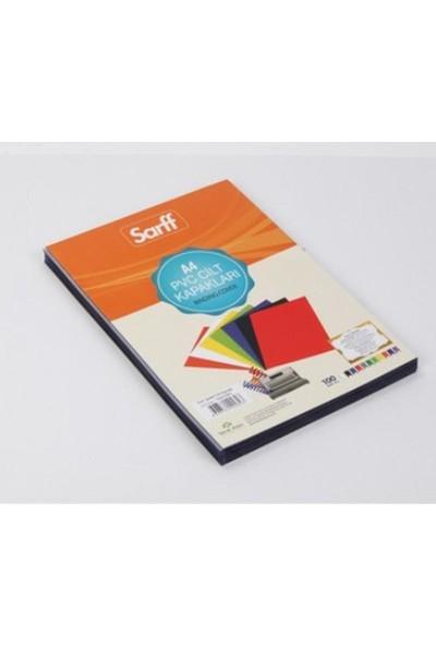Sarff A4 Cilt Kapağı Pvc 160 Mikron Şeffaf 100'lü