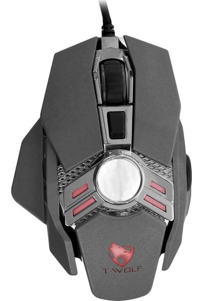 MF Product Strike 0572 RGB Kablolu Gaming Mouse Gri