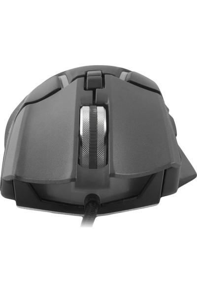 MF Product Strike 0575 RGB Kablolu Gaming Mouse Gri