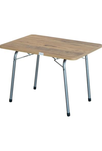 Byeren 45*60 Piknik Masası Ceviz