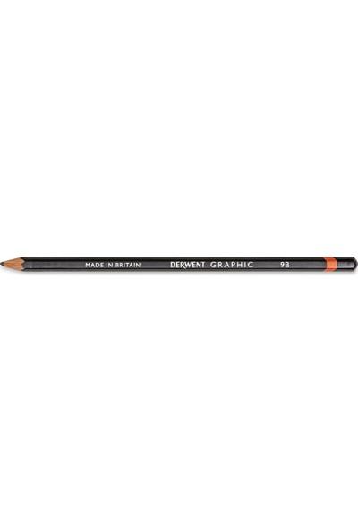 Derwent : Graphic Pencil : Dereceli Kalem : 9B