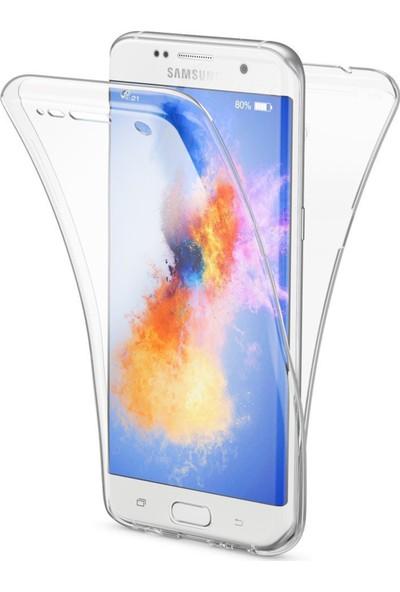 i-Stone Samsung Galaxy S7 Edge 360 Şeffaf Kılıf