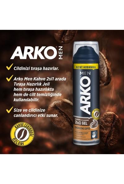Arko Men Coffee Tıraş Jel 200 ml