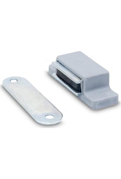 OEM Sineklik Mıknatısı | Gümüş Gri (Ral 7001) x 2 'li
