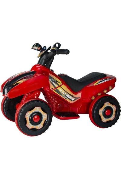 Uj Toys 6V Akülü Atv - Ranger Kırmızı