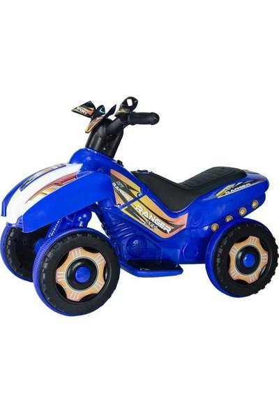 Uj Toys 6V Akülü Atv - Ranger Mavi