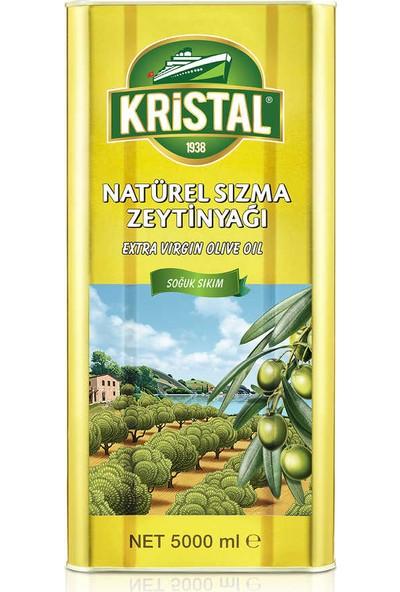 Kristal Natürel Sızma Zeytinyağı YD Teneke 5 L