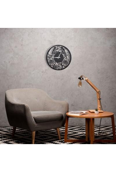 Dfa Dekoratif Metal Duvar Saati 48 x 48 cm