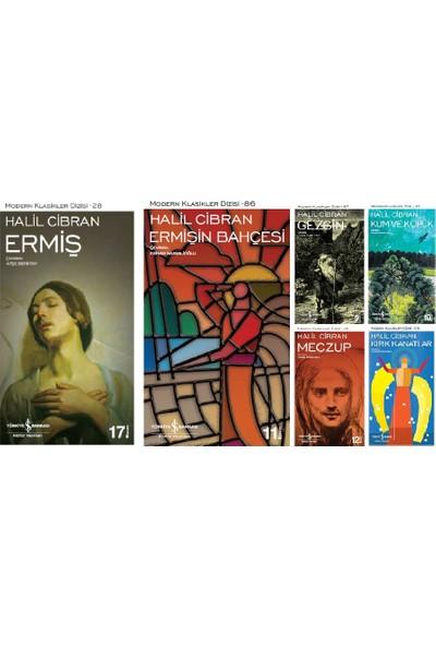İş Bankası Halil Cibran 6 Kitap Set Modern Klasikler Dizisi (Ermiş- Ermişin Bahçesi- Kum ve Köpük- Gezgin- Meczup- Kırık Kanatlar)