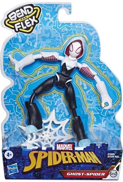 Hasbro E7688 Spider-Man Bend Flex Ghost Spider Figür