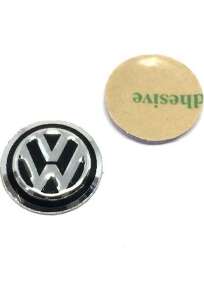 Oto Aksesuarcım Volkswagen Metal Oto Anahtar Logosu 14MM