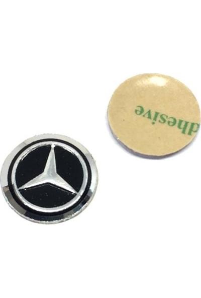 Oto Aksesuarcım Mercedes Metal Oto Anahtar Logosu 14MM