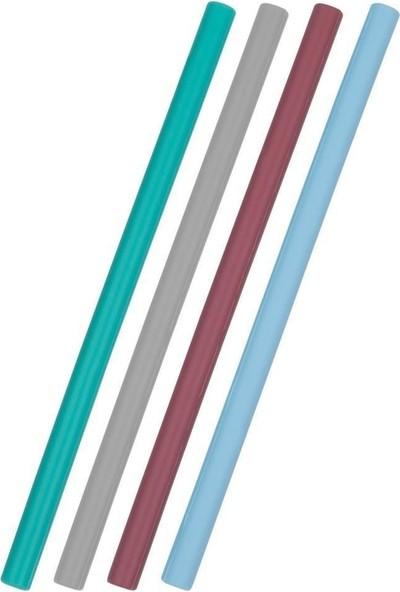 Oioi Silikon Pipet 4lü Mavi Mix