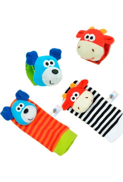 Sozzy Toys Çıngıraklı Çorap ve Bileklik Seti - SZY119