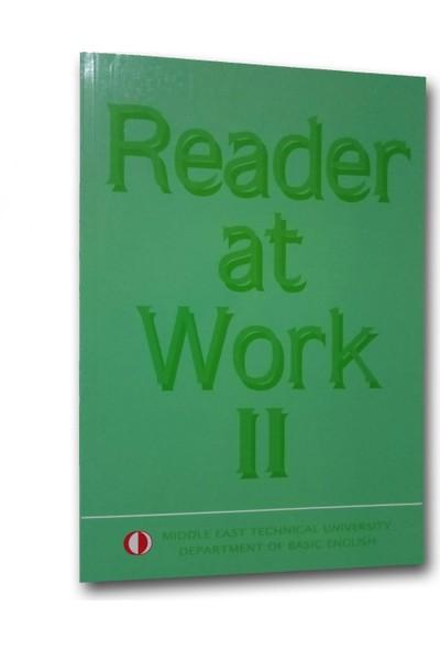Odtü Yayıncılık Reader At Work 1-2 Set