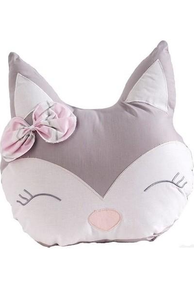 Momi Shop Fox Süs Yastık Pembe