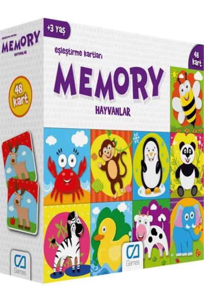 Ca Games Memory Hayvanlar Eşleştirme Kartları