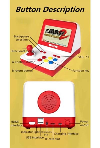 Atari Retro Arcade Oyun Konsolu 64 Bit 5000 Oyunlu 2 Gamepad