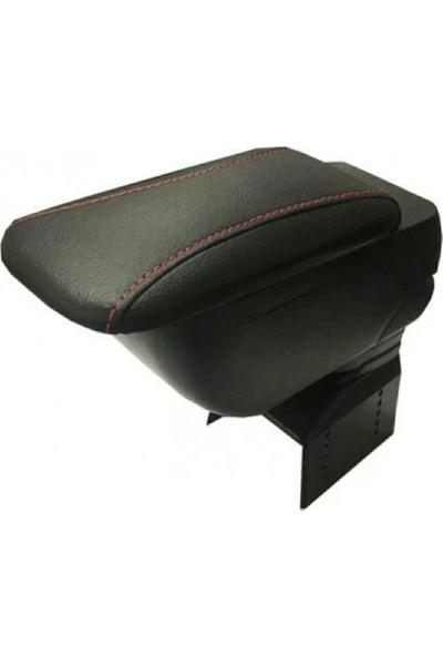 Arcars Full fonksyonlu Sürgülü kol dayama kolçak (Siyah Kırmızı İpli)