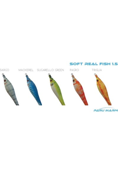 Dtd Soft Real Fish 1.5 Triglia