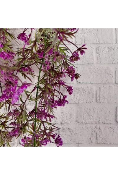 Nettenevime Yapay Çiçek Sarkan Bitki Fuşya 5 Dallı Sarkan Çiçek TY61