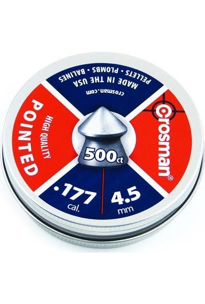 Crosman 4.5 Cal Sıvrı Tnk.kutu Havalı Sacma